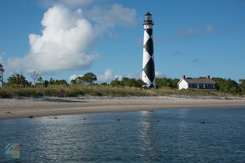 Cape Lookout Lighthouse - the view is worth the climb