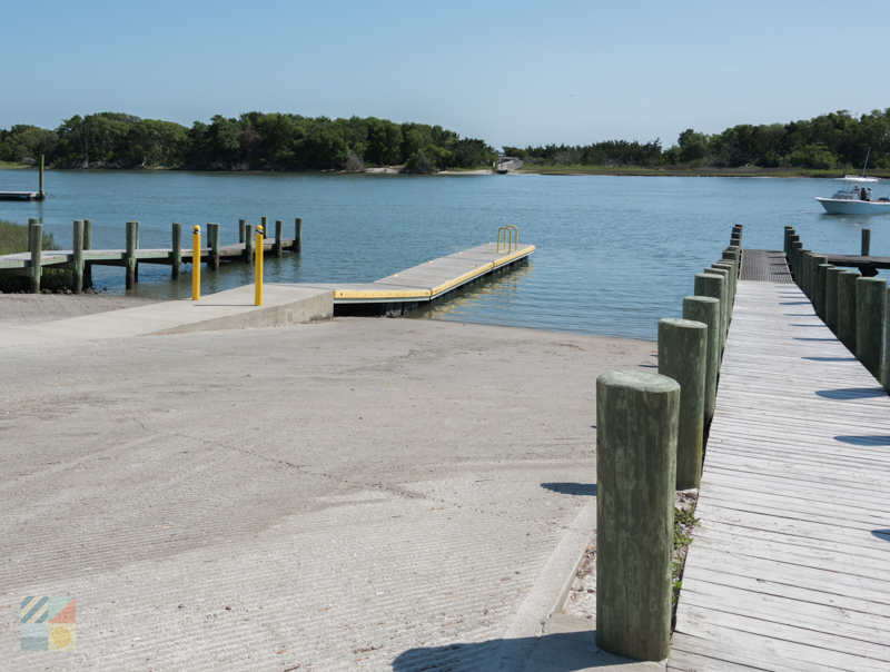 Beaufort boat ramp on Lennoxville Rd