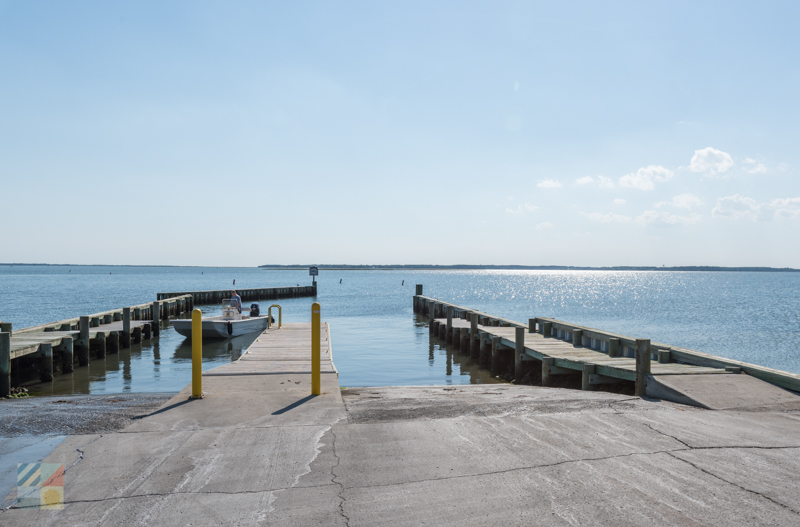 Harkers Island boat ramp