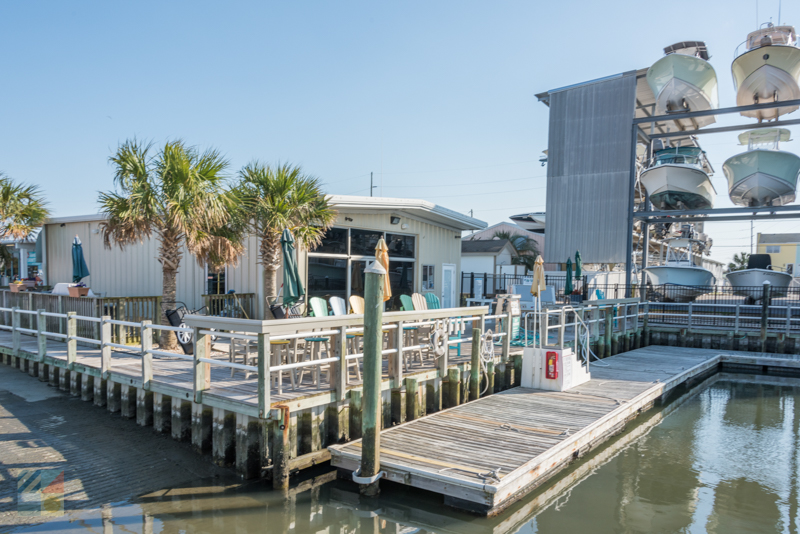 There are several marinas on the Crystal Coast
