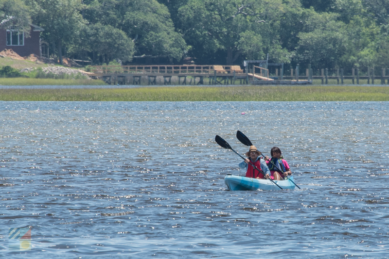 Rent a tandem kayak for a day