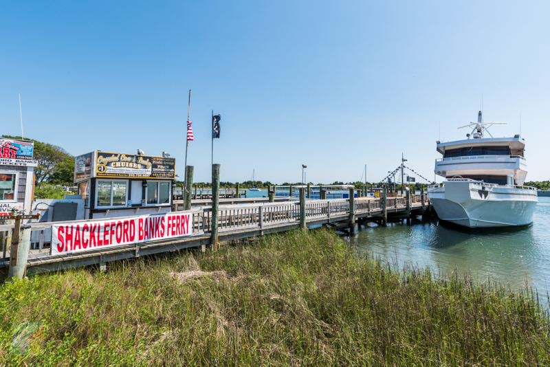 Many boat tours leave from the downtown Beaufort docks