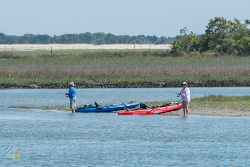 Rent a kayak and head to the Shackleford Banks