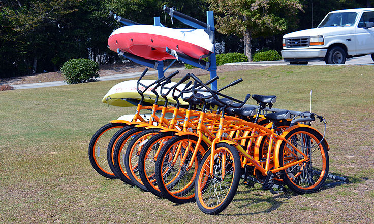 Bike and kayak rentals in Emerald Isle, NC