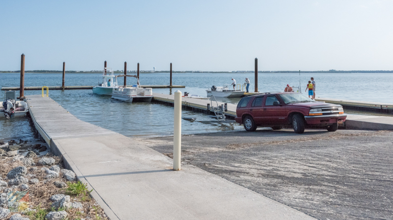 Morehead City boat ramp