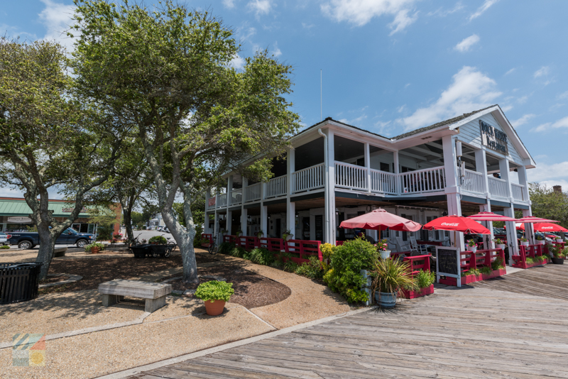 Your dinner awaits dockside in downtown Beaufort