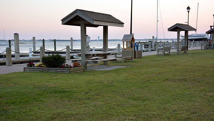 Jaycee Park in Morehead City, NC