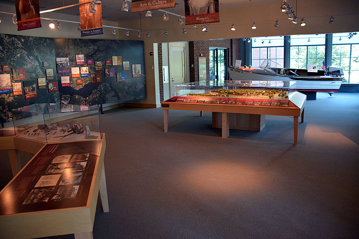 Exhibits at the North Carolina History Center