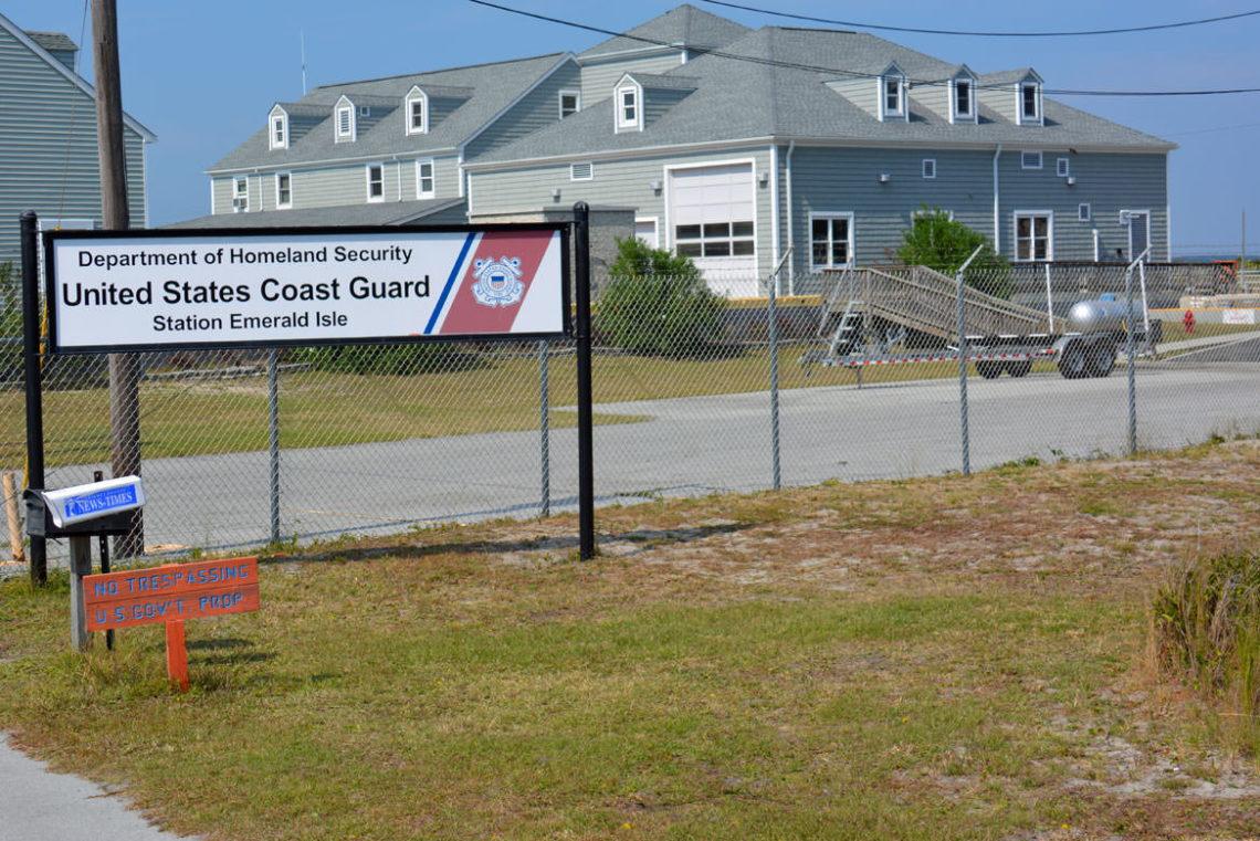 USCG Emerald Isle CrystalCoastcom - Us coast guard bases map