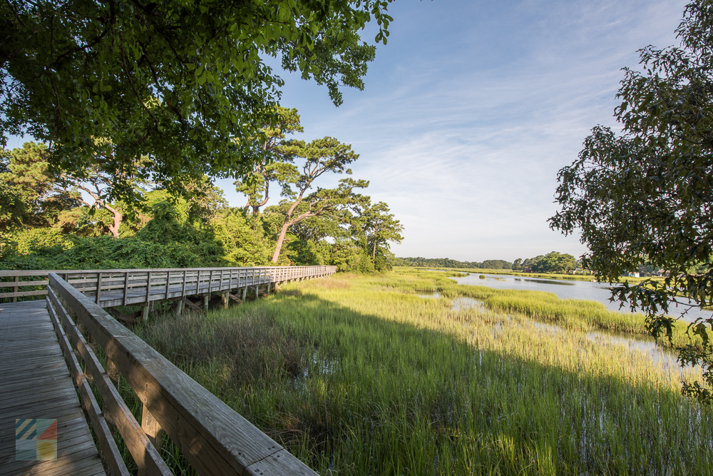 Calico Creek Boardwalk in Morehead City NC